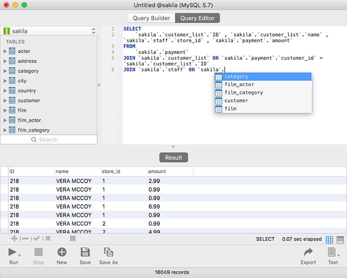 VSM365 - Navicat GUI | Powerful database management & design tool