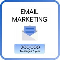Email Marketing 200,000 e-mail / year