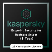 Kaspersky Endpoint Security for Business Select (1 Year)/ 25 cross grade license