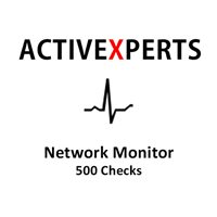 ActiveXperts - Network Monitor 500 Checks