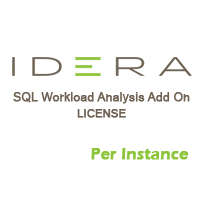 SQL Workload Analysis Add On - License