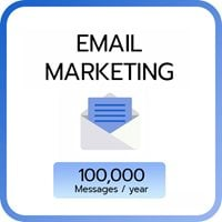 Email Marketing 100,000 e-mail / year
