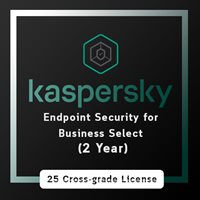 Kaspersky Endpoint Security for Business Select (2 Year) / 25 cross grade license
